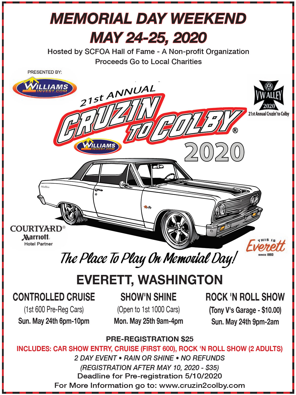 CruZin Magazine - Riverside casino car show