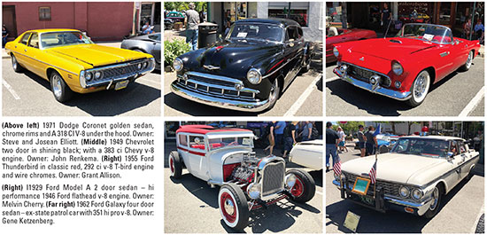 The Midnight Cruizers contributed an additional 16 club awards. Around  $1500 in door prizes were won by appreciative car owners. Check out Rod  Fest 2018, ...